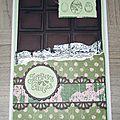 carte chocolat