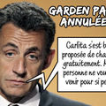 Garden party annulée...