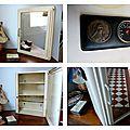 Relooker une armoire à pharmacie métallique années 50...