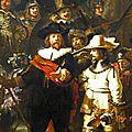 Ronde de nuit - Rembrandt