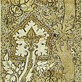 82 - Pisanello_-_Codex_Vallardi_2537 motif de brocart