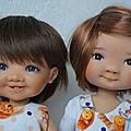 Des tenues en duo pour mes <b>Dumpling</b> !