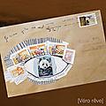 Mail art mosaïc [10 et 11]