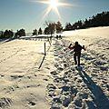 Féerie, neige et soleil !