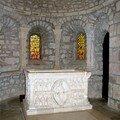L'autel de l'église notre-dame d'avenas
