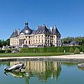 Le <b>château</b> de Vaux-le-Vicomte