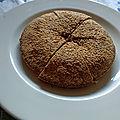 Le creusois - Gâteau aux noisettes