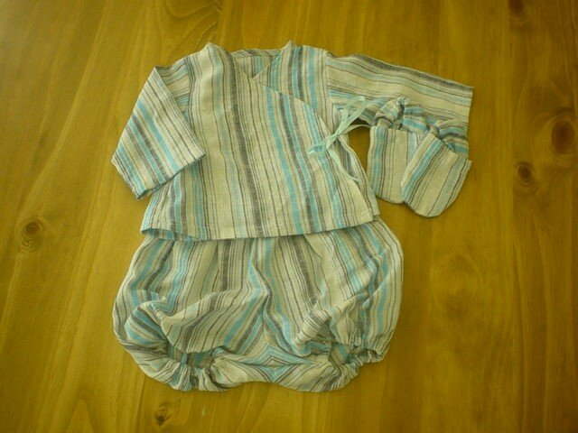 Brassière, bloomer et chaussons