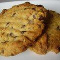 cookies choco/noisettes