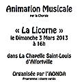 Concert à la chapelle saint louis d'alfortville