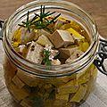 Feta végétale au tofu