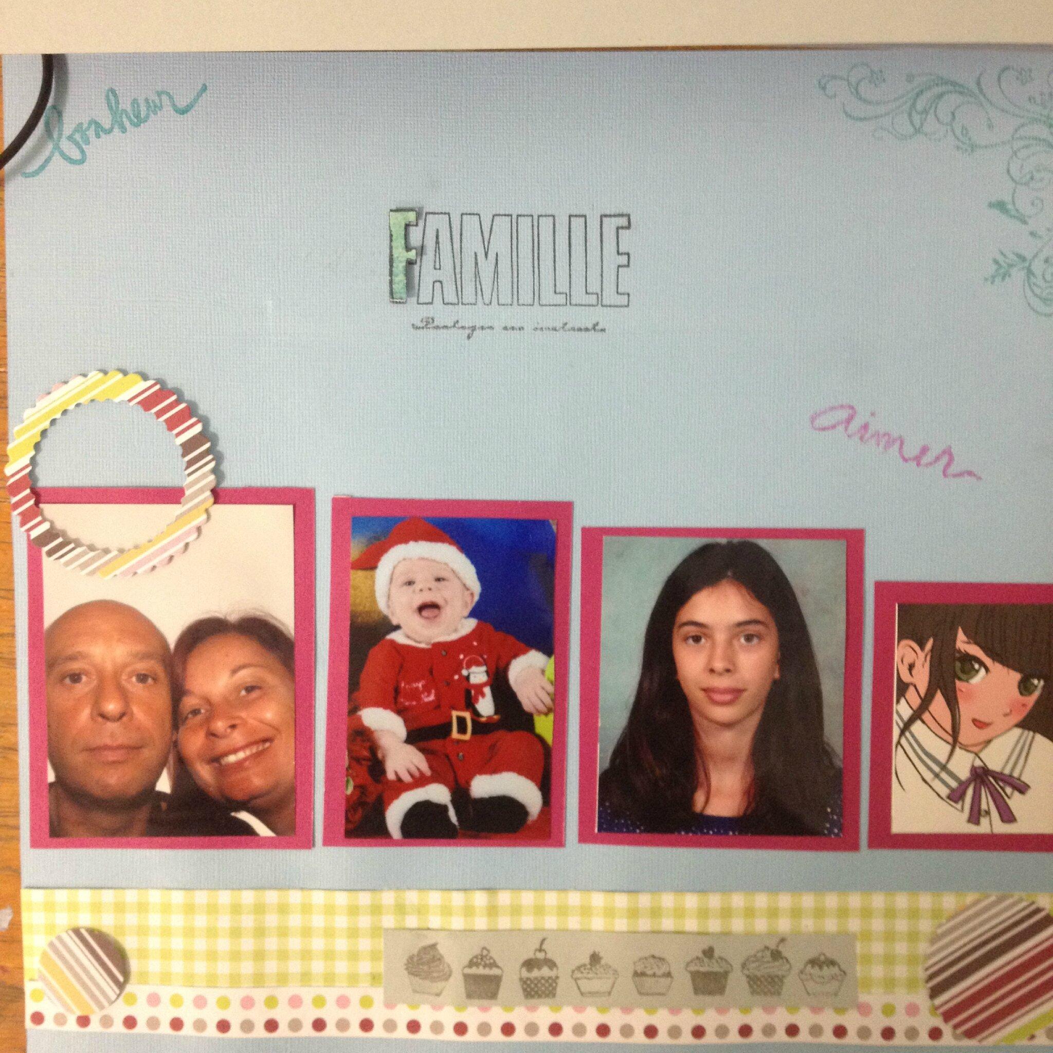 page Famille de Gwladys