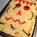 Pizza halloweenesque...