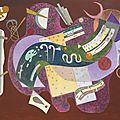 Wassily kandinsky's 'rigide et courbé' highlights christie's sale