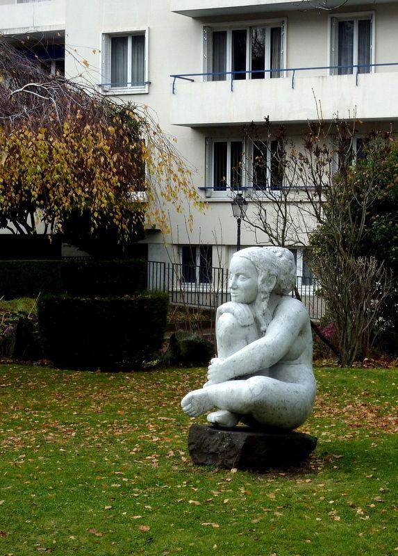 statue à Chamalières