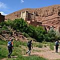 Morocco Dades Valley Excursion tour trip trekking with guide in Gorges Canyon