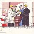 Le baptême, sacrement inaugural