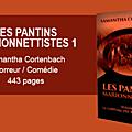 Les pantins marionnettistes 1: le château des brasseurs d'air - samantha cortenbach