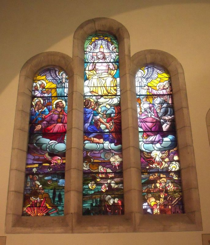 Les saints patrons des villages détruits devant Verdun