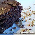 Brownies au pépites de nougatine