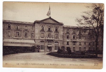 62 - PARIS PLAGE - Hermitage Hotel