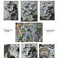 page 3 2014-TOTUM 87 SCHMIMBLOCK'S arbol Acrylique sur Argile 31cm x 25,5cm