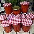 Coulis de tomates (sauce tomates)