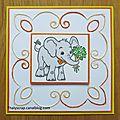 Broderie éléphant - 02b