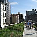 La highline dans le meatpacking district