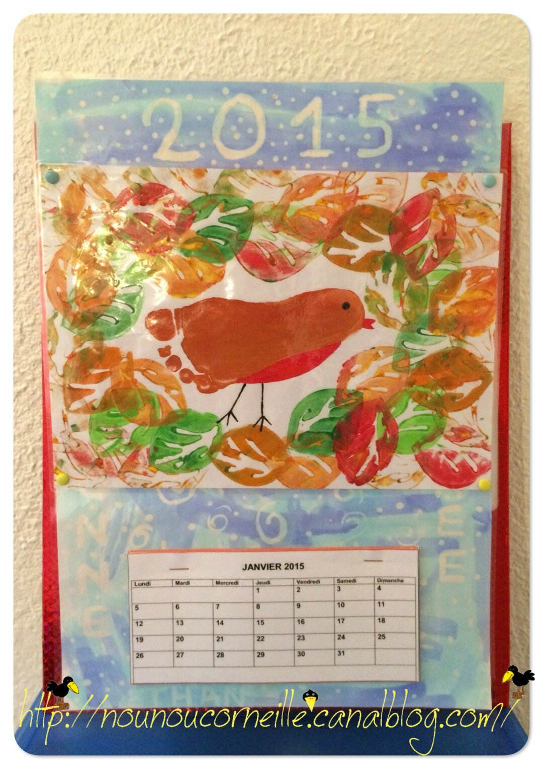 calendrier ethan papy mamy 2015