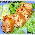 Savarin aux legumes