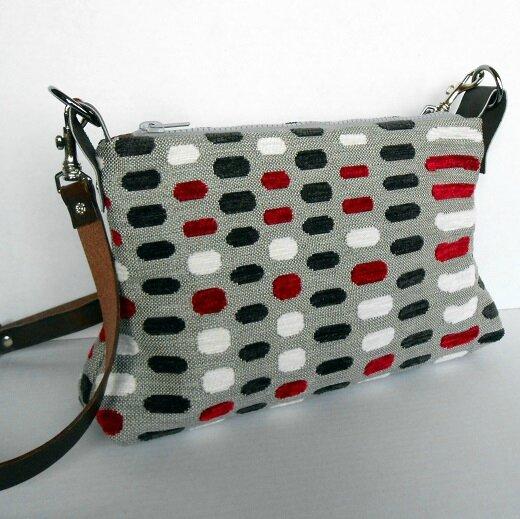 Sac trapèze petits rectangles rouge-noir-gris4