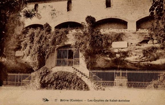 Brive la Gaillarde, les Grottes de St Antoine
