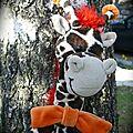 Louis, le petit girafon