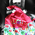 Aloïs et sa couverture de landau