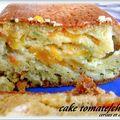 Cake tomate et chevre
