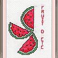 Échange ATC (Fruits d'été) Sandrine pour Marie de Clessé (1)