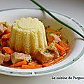 Filet mignon au wok accompagné de carottes