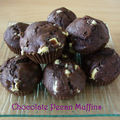 Chocolat pecan muffins