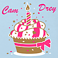 Happy birthday cam & drey...