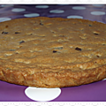 Goûter # 15: the giant cookie