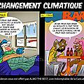 La devise climatique: plus chaud, plus froid, plus humide