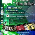 Le festival du film italien de retour à la réunion pour une deuxième édition