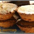 Palets bretons au sucre roux de