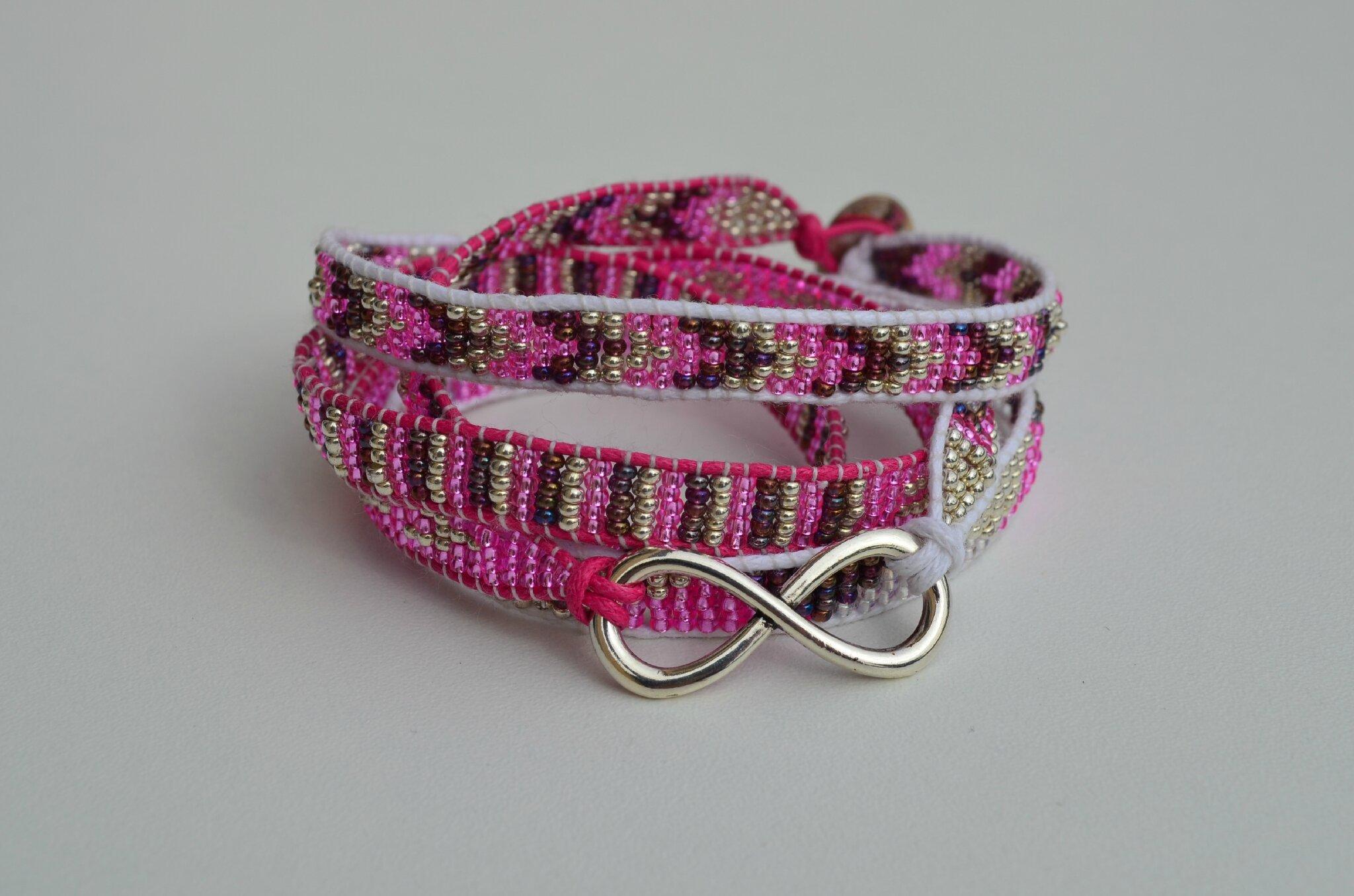 bracelet à l'infini