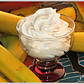 Chantilly de <b>banane</b> au siphon