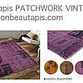 La saga du tapis patchwork vintage