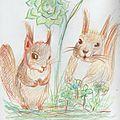 Ecureuils de février...