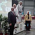 Judo : une médaille d' argent au master national vétéran...