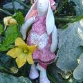Un atelier pour réalisation d'un lapin tilda...